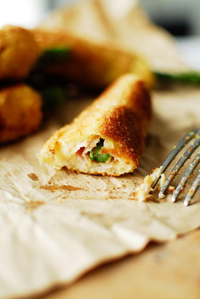 studio kuchnia | Panierowane tosty ze szparagami