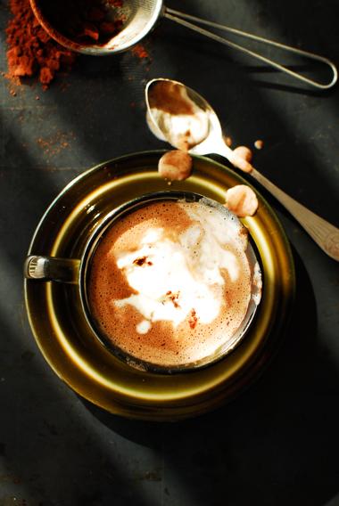 studio kuchnia   Gorąca czekolada z dynią
