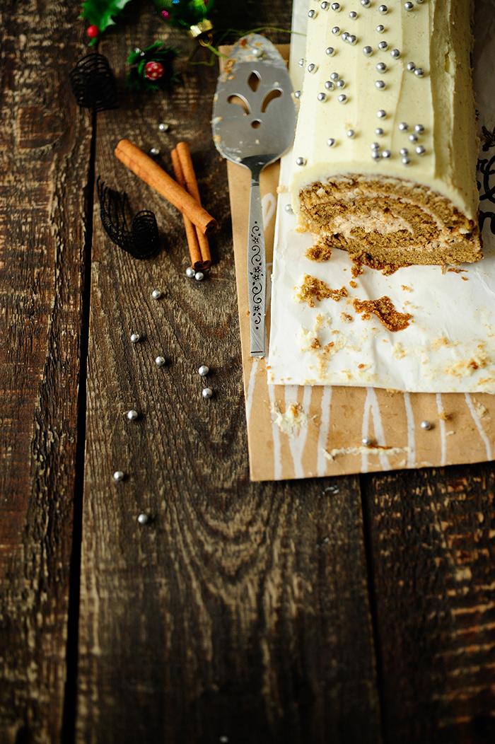studio kuchnia   Rolada korzenna z mascarpone