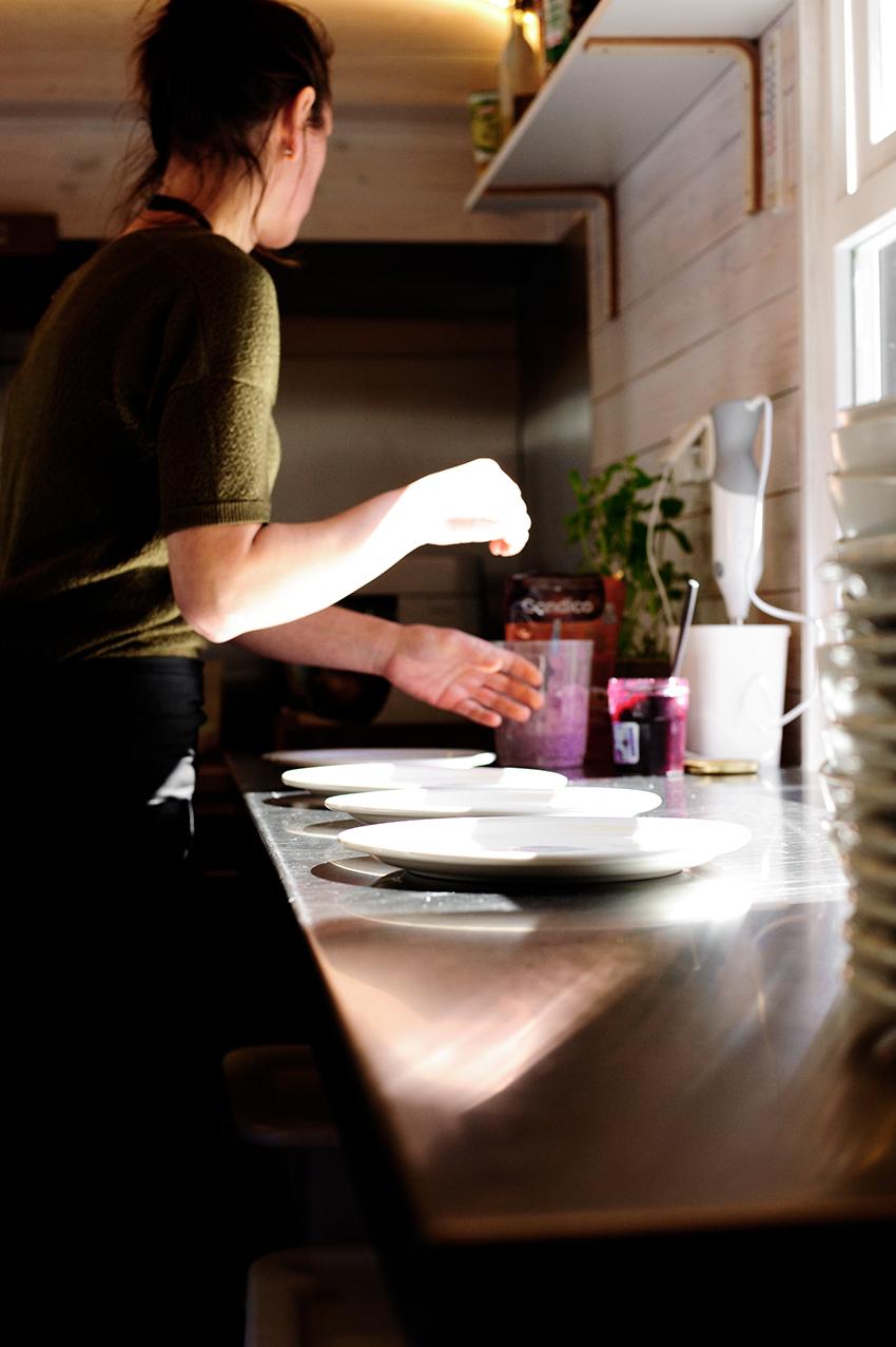 serving dumplings | anna chwistek
