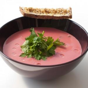 Zupa Krem z Selera i Buraczka