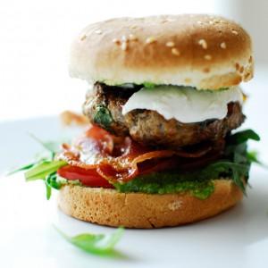 Hamburger Italian Style