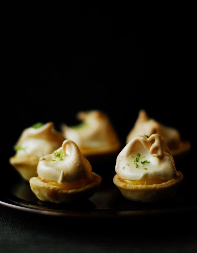 Mini ciasteczka meringue