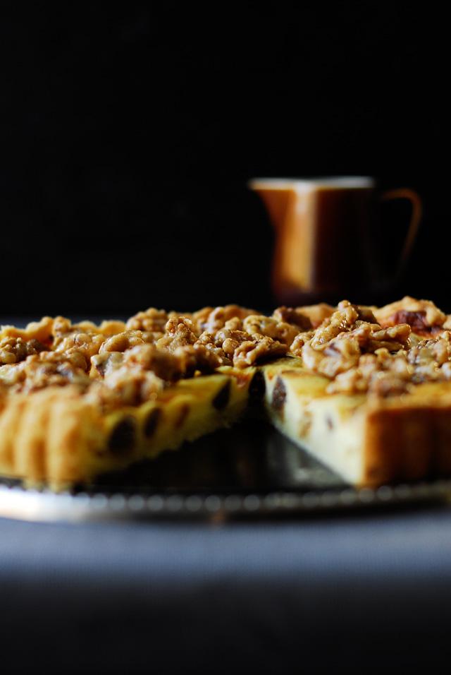 studio kuchnia | Tarta sernikowa z figami i orzechami