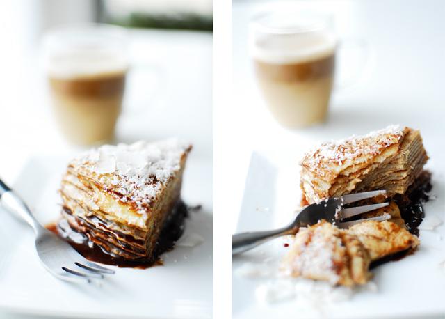 studio kuchnia | Tort naleśnikowy z czekoladą