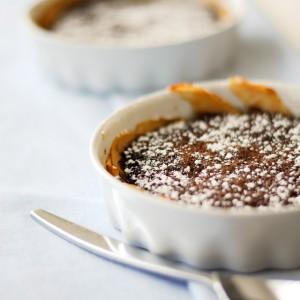 Zapiekane gruszki z czekoladą