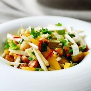 Zdrowa obiadowa sałatka-0