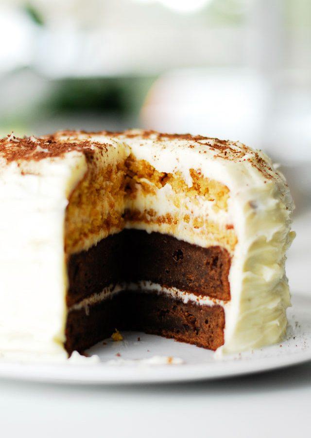 Tort czekoladowy z twistem