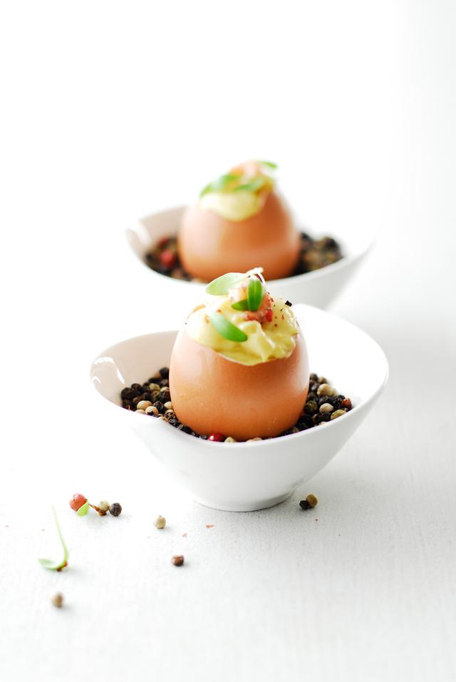 studio kuchnia | Eleganckie jajka