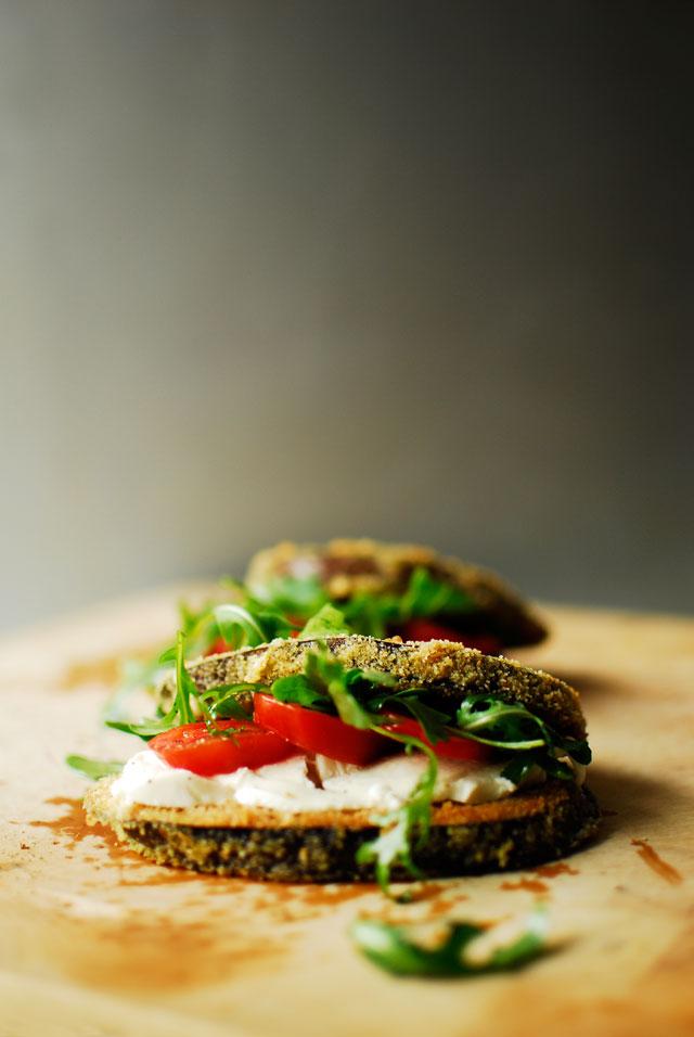 studio kuchnia | Chrupiące kanapki z bakłażana