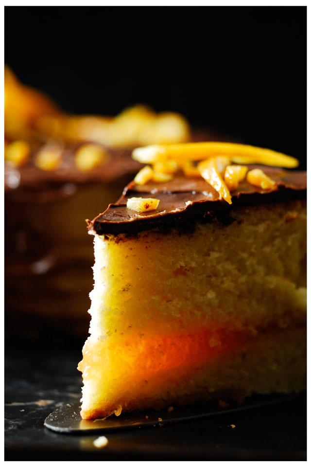 studio kuchia | Tort pomarańczowy z czekoladą