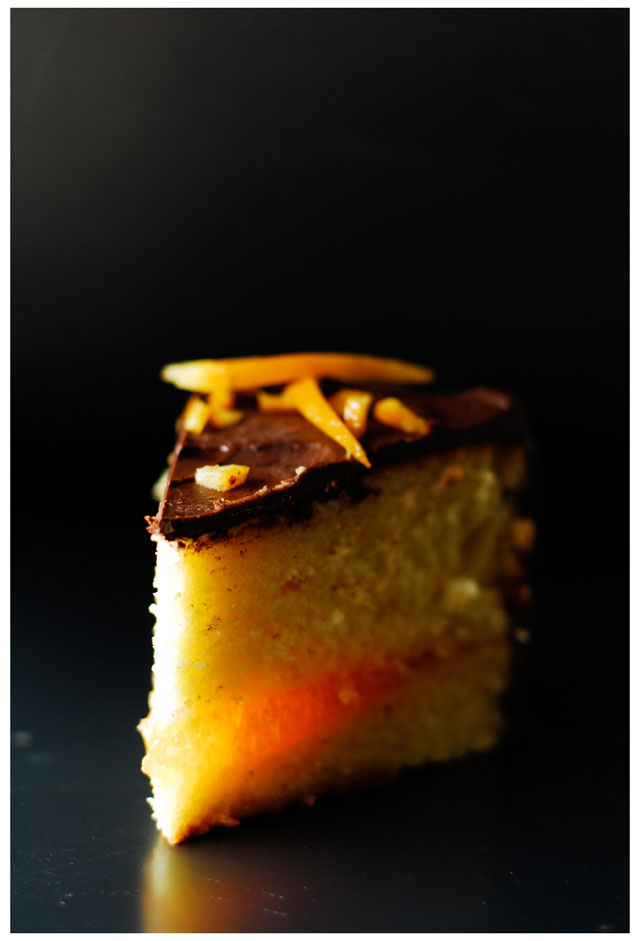 studio kuchnia | Tort pomarańczowy z czekoladą