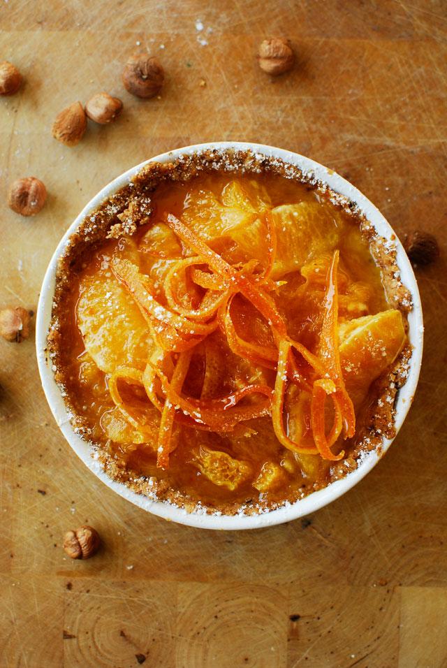 studio kuchnia | Orzechowe tarteletki z mascarpone i pomarańczami