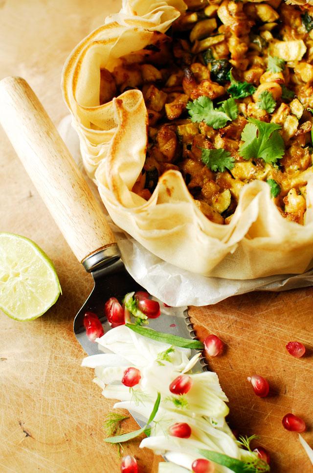 studio kuchnia | Marokańska pastilla z kurczakiem