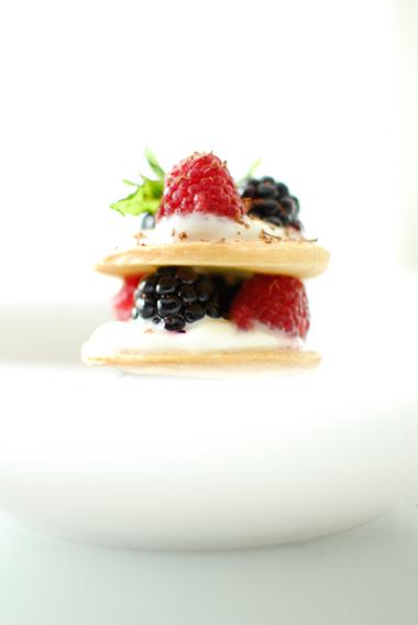 studio kuchnia   Francuskie ciasteczka z owocami