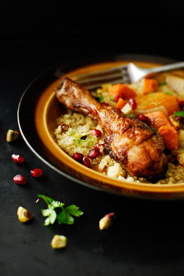 studio kuchnia   Duszony kurczak z warzywami i kuskus
