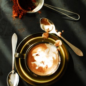 Gorąca czekolada z dynią