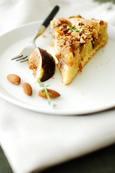 studio kuchnia | Tarta z migdałowym kremem i figami