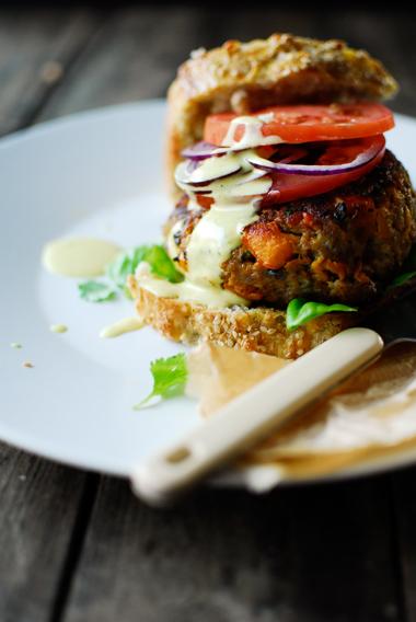 Studio kuchnia | Burger jagnięcy z dynią