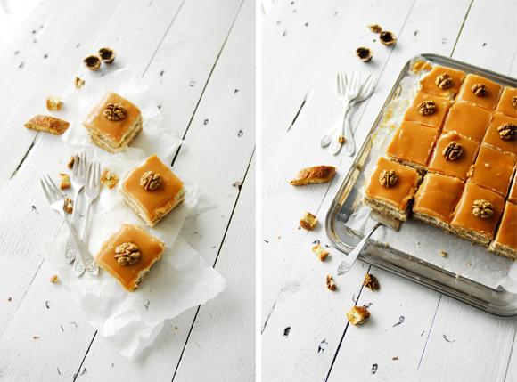 studio kuchnia | Orzechowa kostka z karmelem