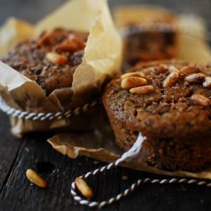 Kasztanowe muffinki z czekoladą