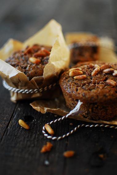 studio kuchnia | Kasztanowe muffinki z czekoladą