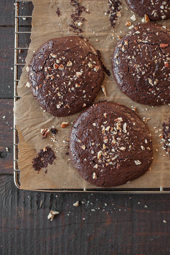 studio kuchnia | Czekoladowe ciasteczka ciągutki