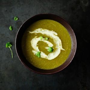 Gęsta zupa porowa