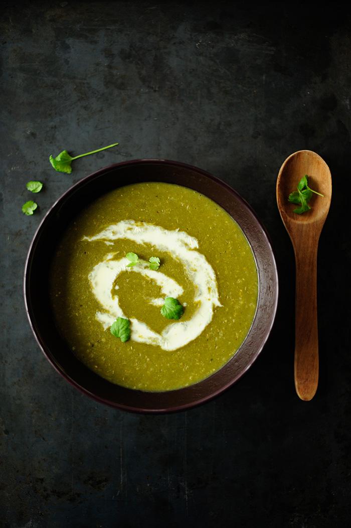 studio kuchnia | Gęsta zupa porowa