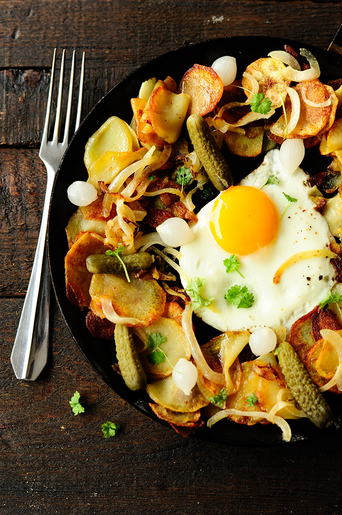 studio kuchnia | Ziemniaki z patelni