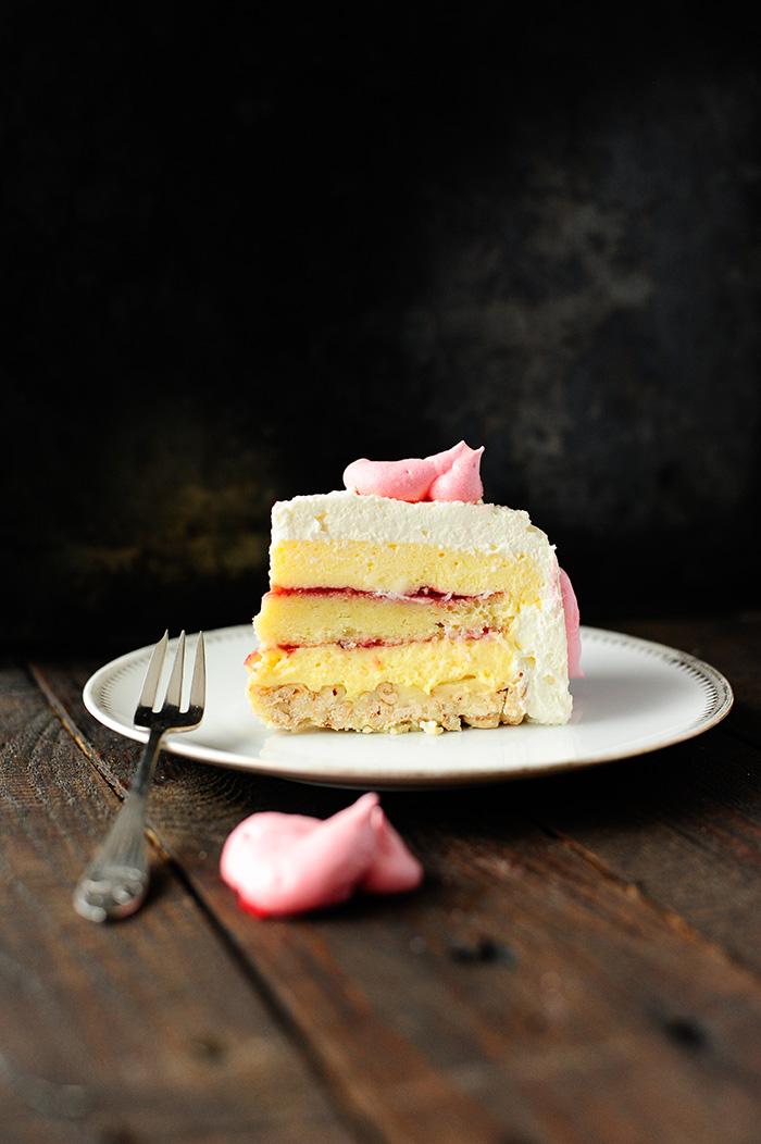 studio kuchnia | Szampański tort Walentynkowy