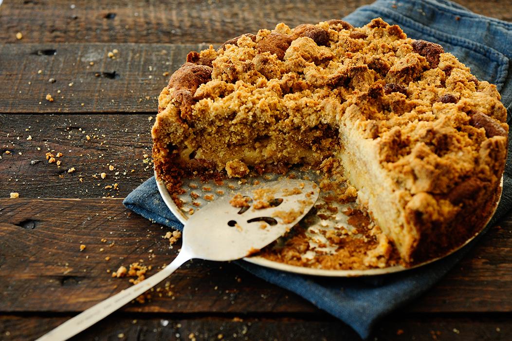 studio kuchnia | Ciasto rabarbarowe z mnóstwem kruszonki