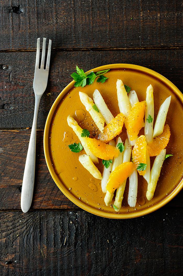 studio kuchnia | Szparagi z pomarańczami