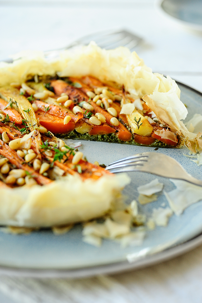 studio kuchnia   Tarta z karmelizowaną marchewką
