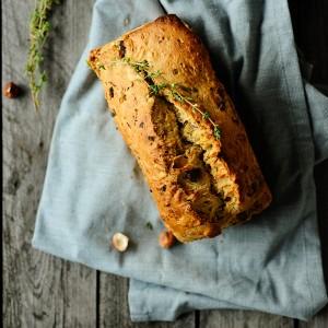 Studio Kuchnia   Chleb z pieczarkami i orzechami 0
