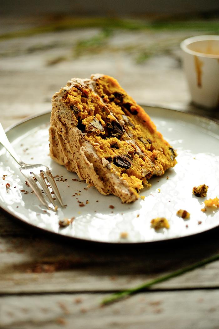 Studio Kuchnia | Tort dyniowy z kremem mokka