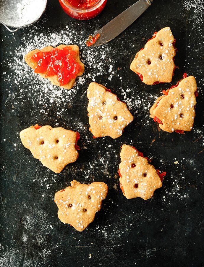 "Kruche ciasteczka z nadzieniem ""Campari orange"""