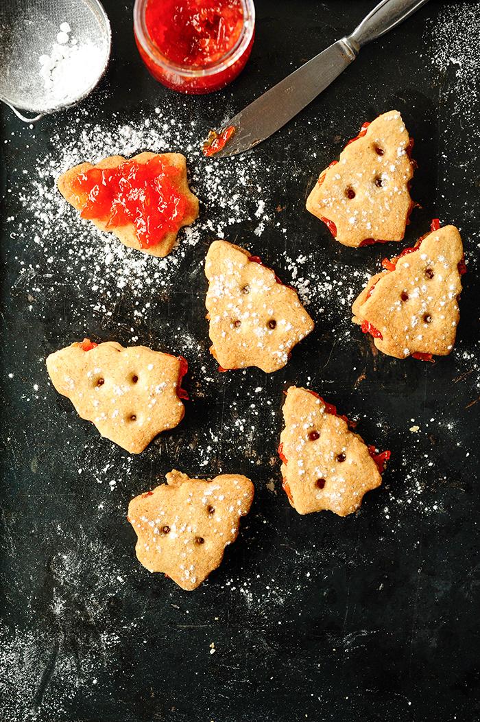 studio kuchnia   Kruche ciasteczka z nadzieniem 'Campari orange'