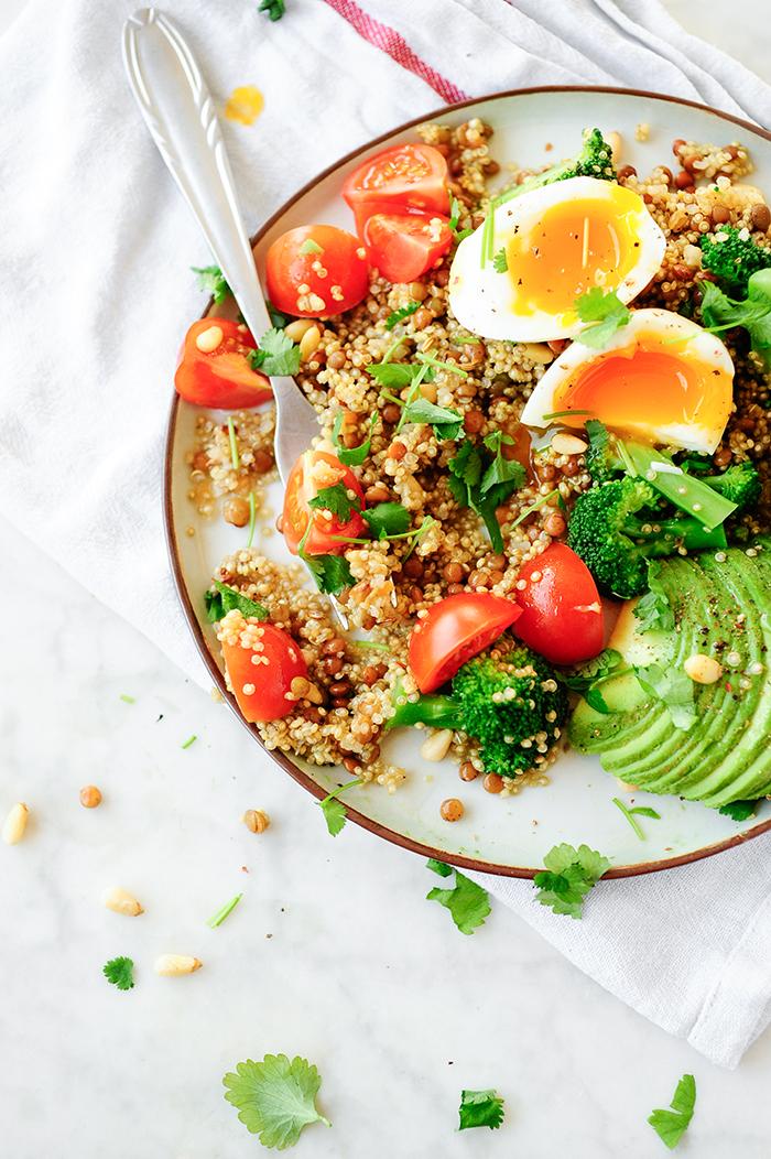 studio kuchnia | Komosa ryżowa z brokułem i soczewicą