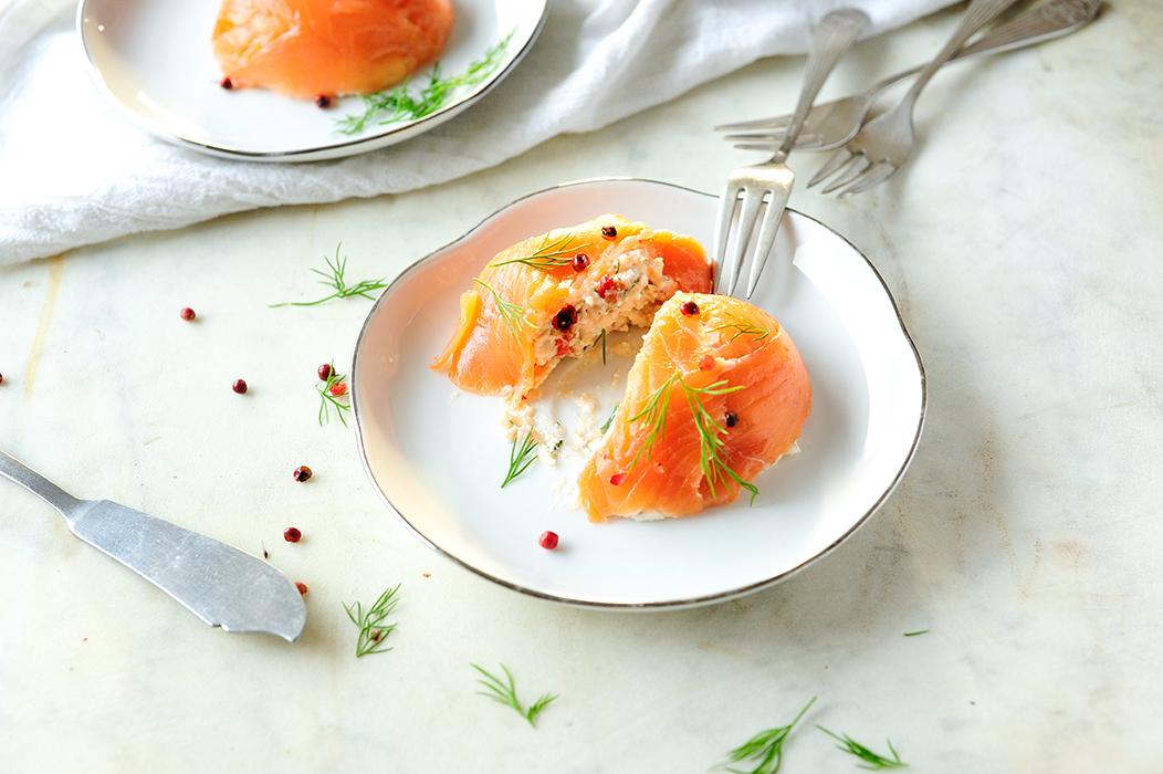 studio kuchnia | Mus z łososia z serem wiejskim