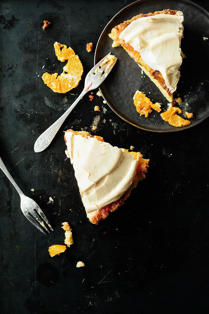 serving dumplings | Citrustaart met meringue