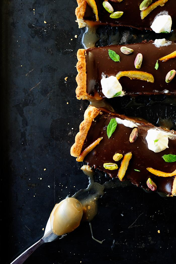 studio kuchnia | Mazurek karmelowy z czekoladą