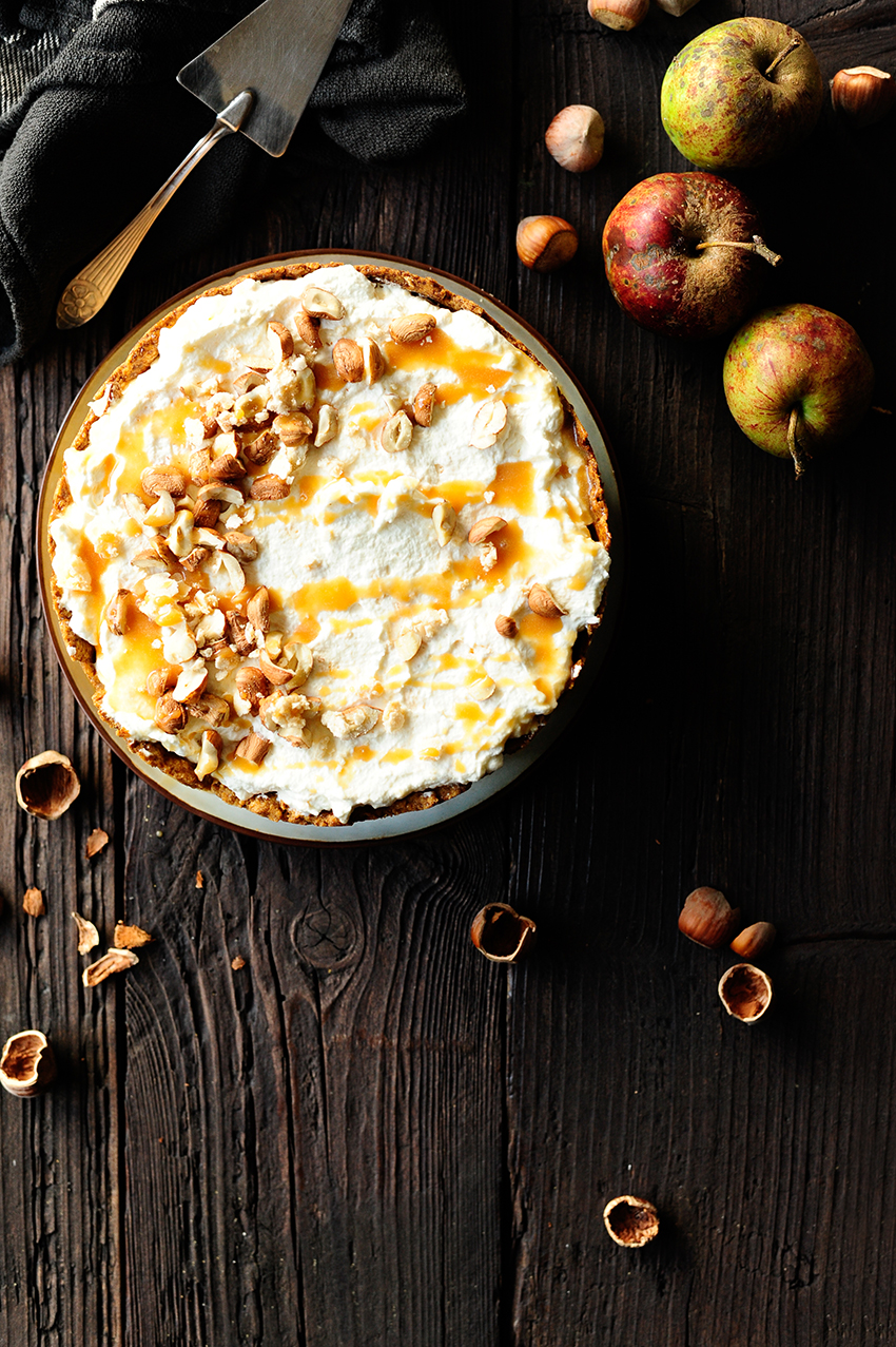 serving dumpligs | caramel-apple-pie-with-whipped-cream-and-meringue