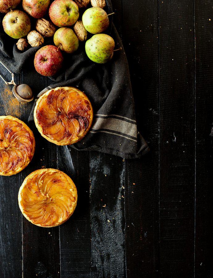 Omgekeerde appeltaartjes