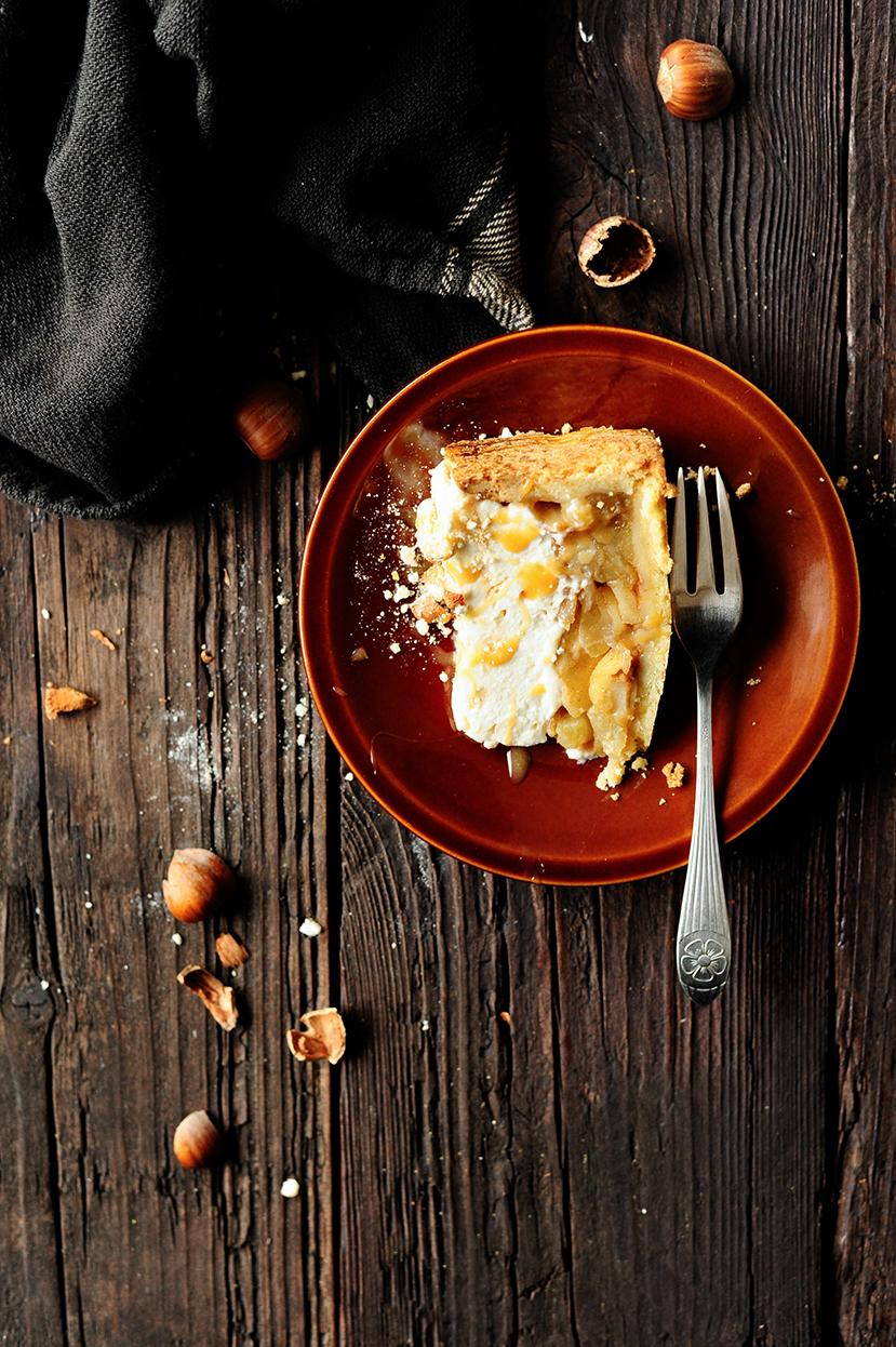 studio kuchnia | Szarlotka z bitą śmietaną i bezą