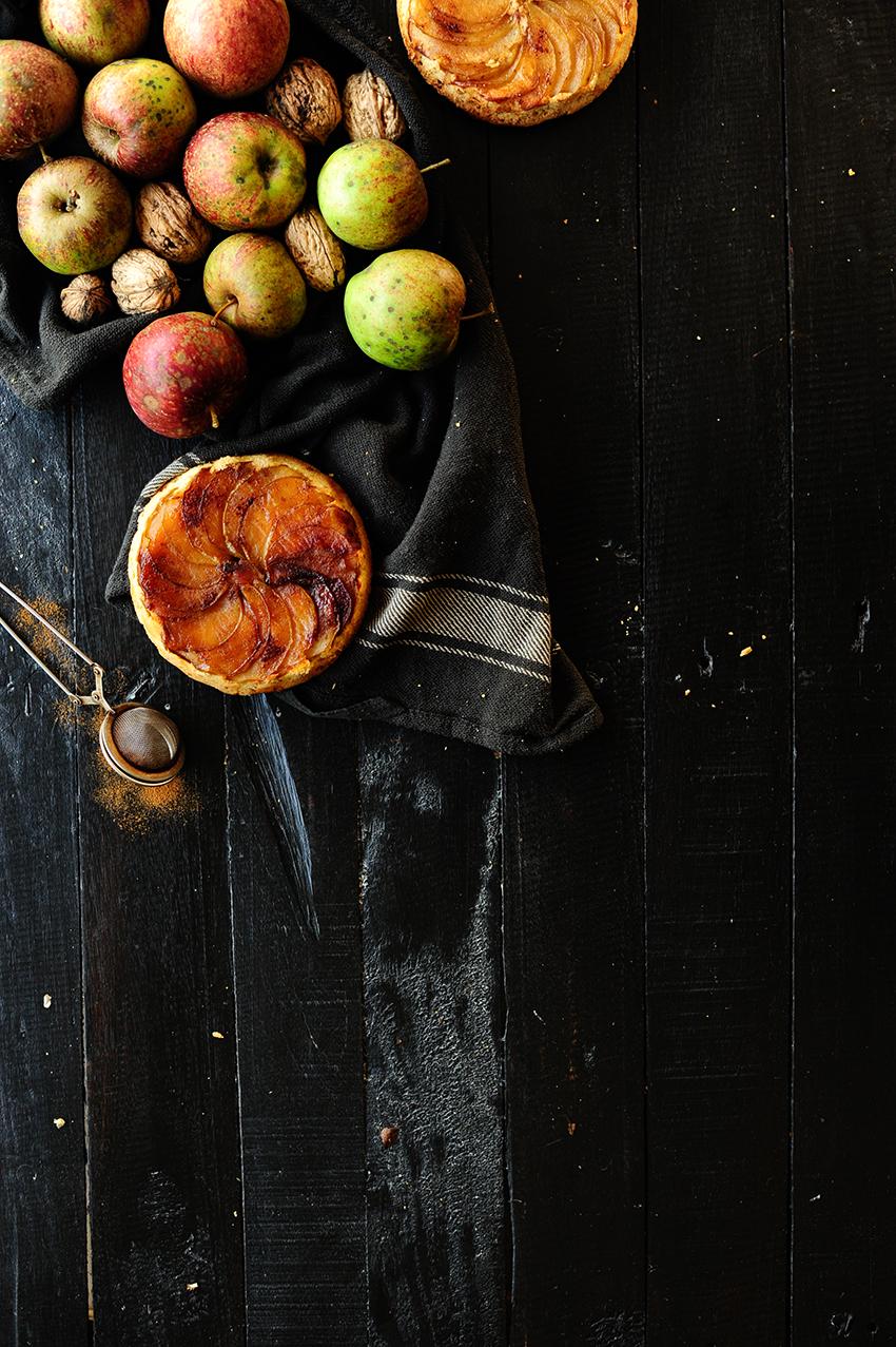 serving dumplings | upside-down-apple-cakes