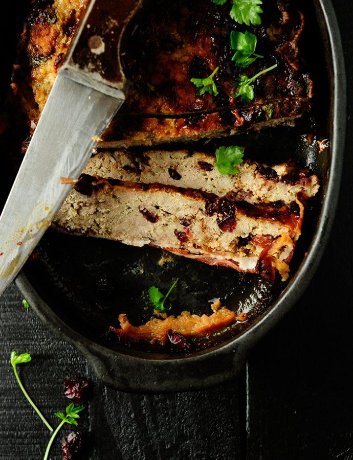 Kalkoenpaté met veenbessen en whisky