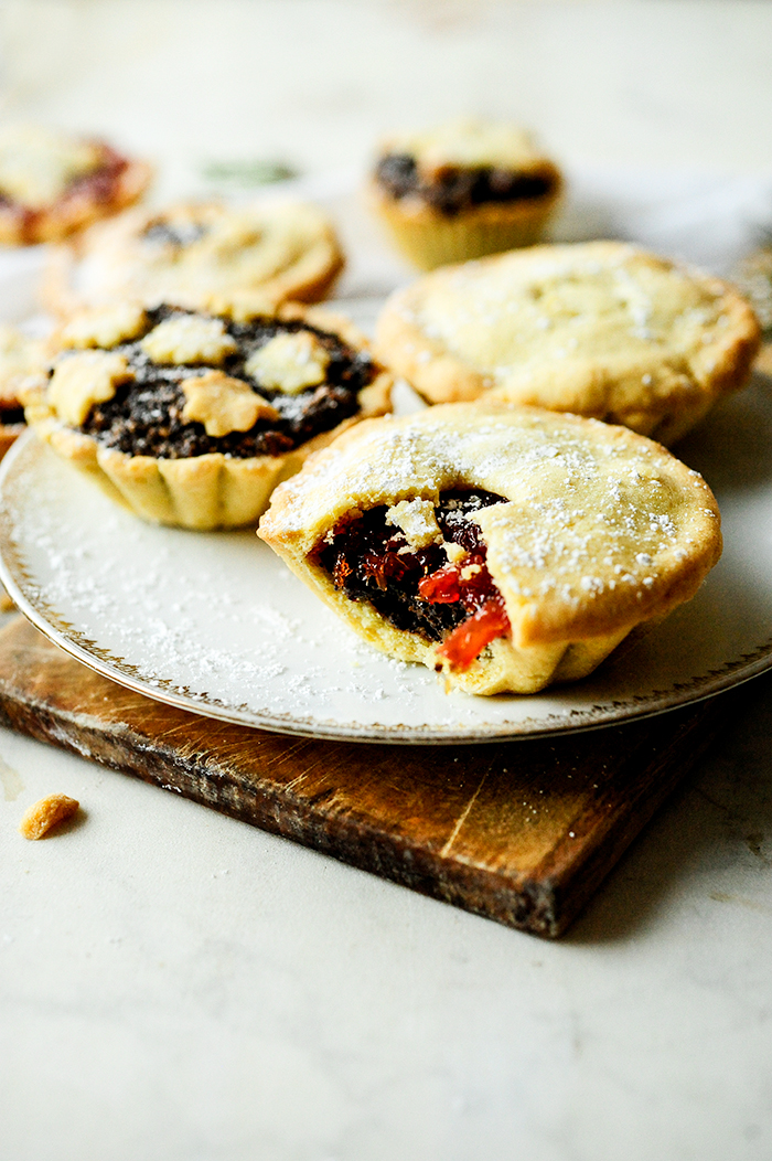 serving dumplings | mini-walnut-poppy-seed-pies