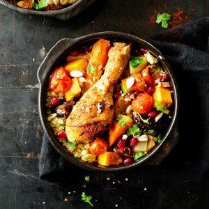 Kurczak po marokańsku z daktylami
