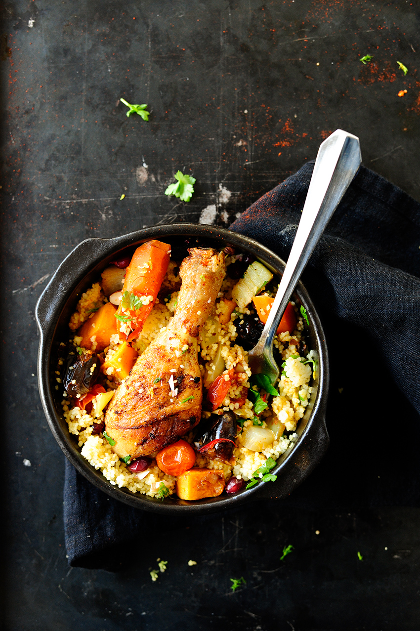 studio kuchnia | Kurczak po marokansku z daktylami